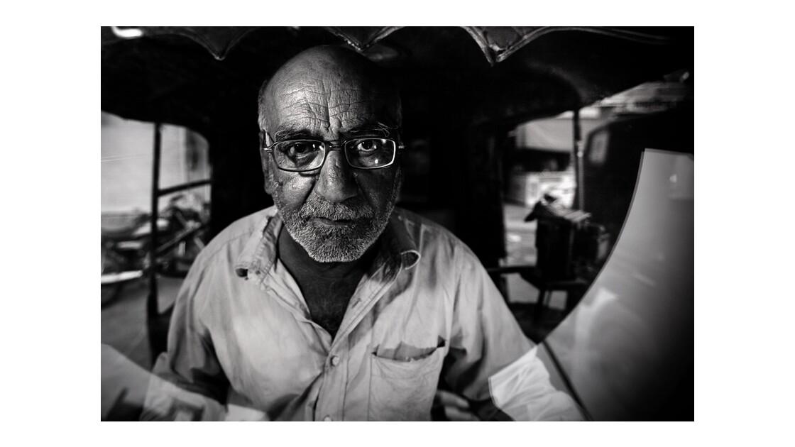 Conducteur d'autorickshaw de Jodhpur