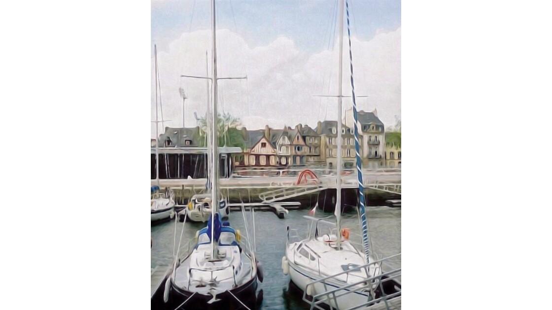 Barques et port de Vannes