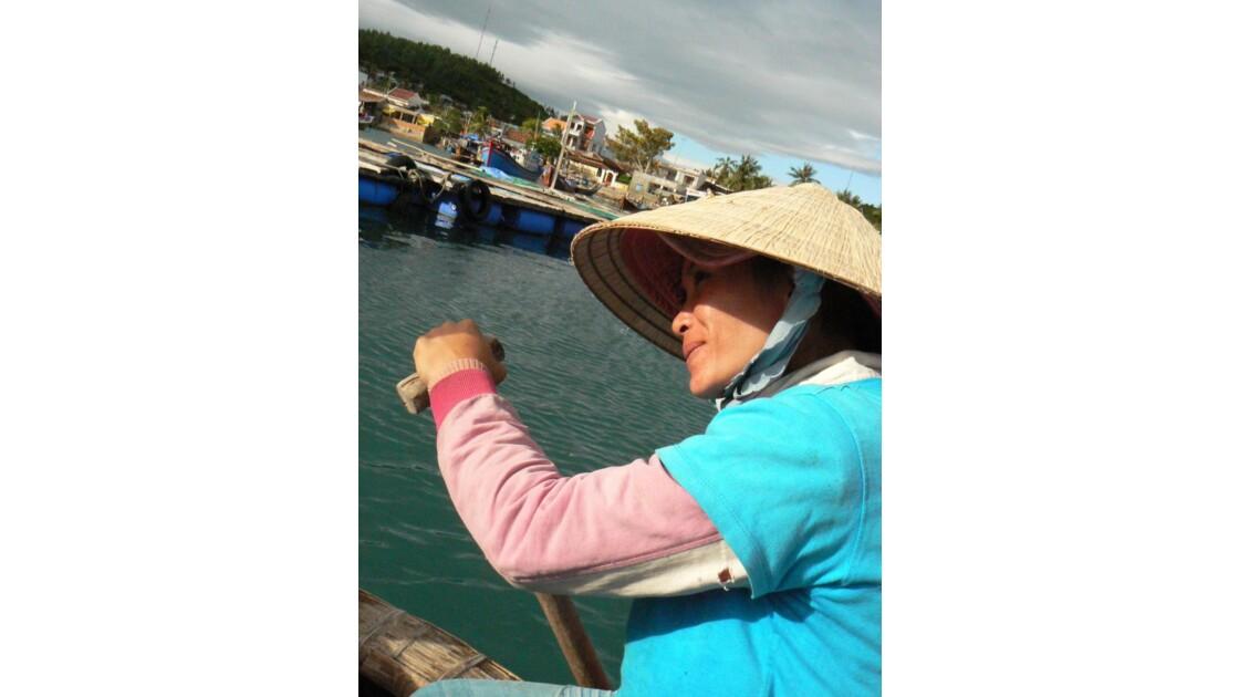 Dans un bateau panier...Nha Trang