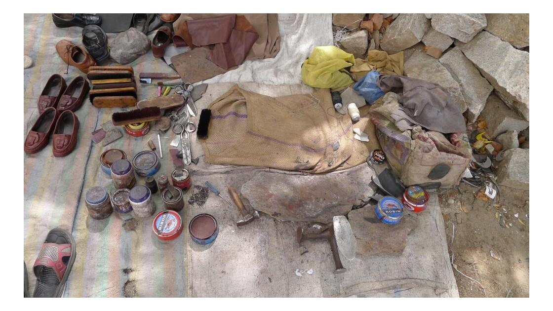 atelier du cireur de chaussures