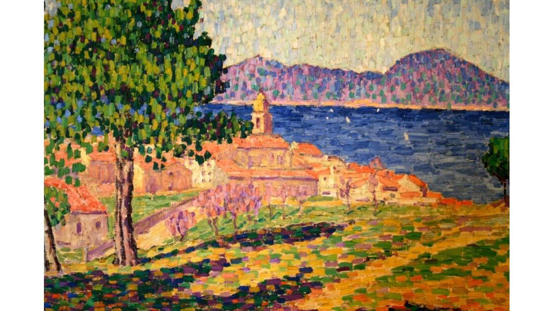 Saint Tropez Vue Par Georges Seurat Geo Fr