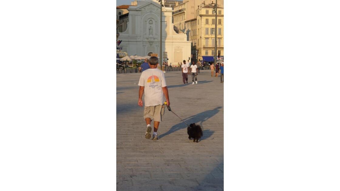 maître et chien