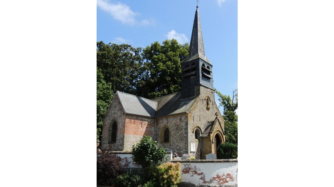 Eglise St Pierre en couleur