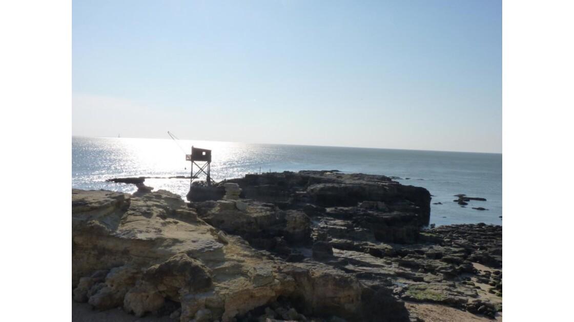 rocher du Pont du Diable et son Carrelet
