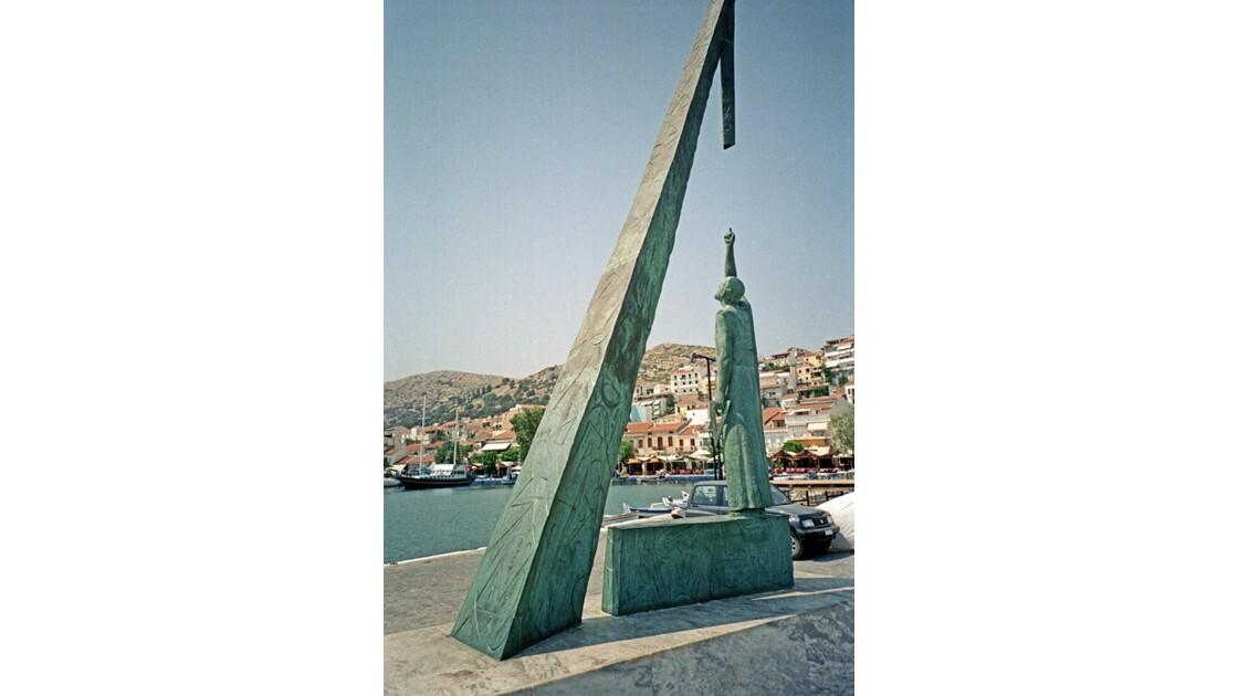 Samos Pythagorio statue de Pythagore 4
