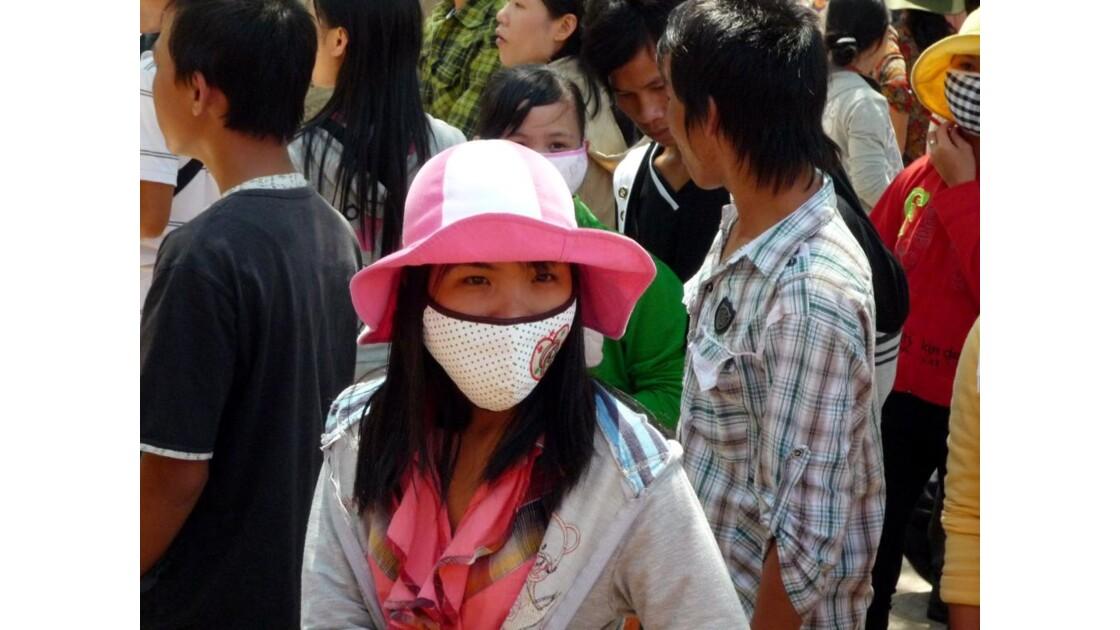 Fidèles à la pagode - Nha Trang