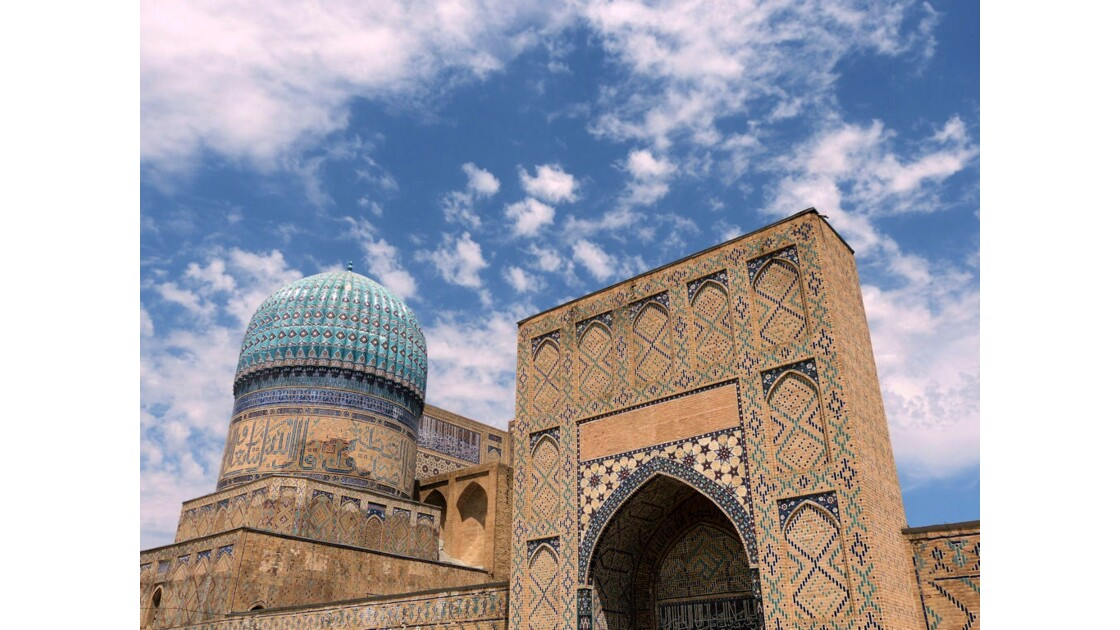 Samarcande, mosquée Bibi Khanum
