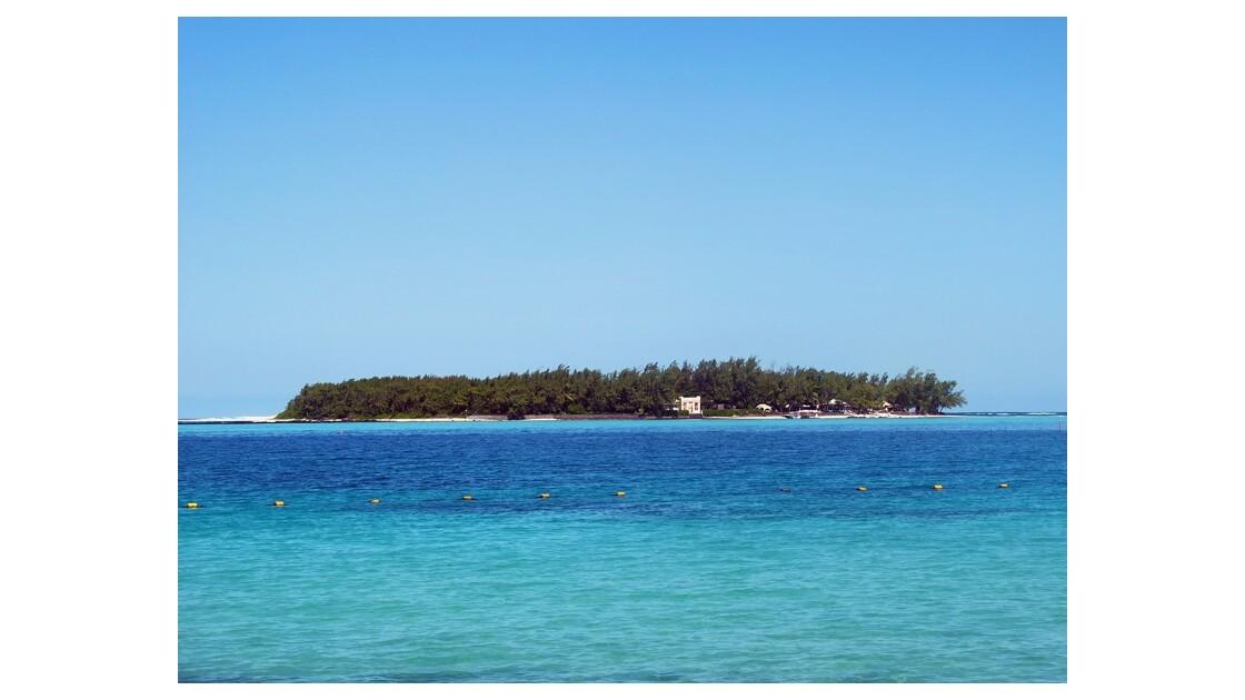 une île.