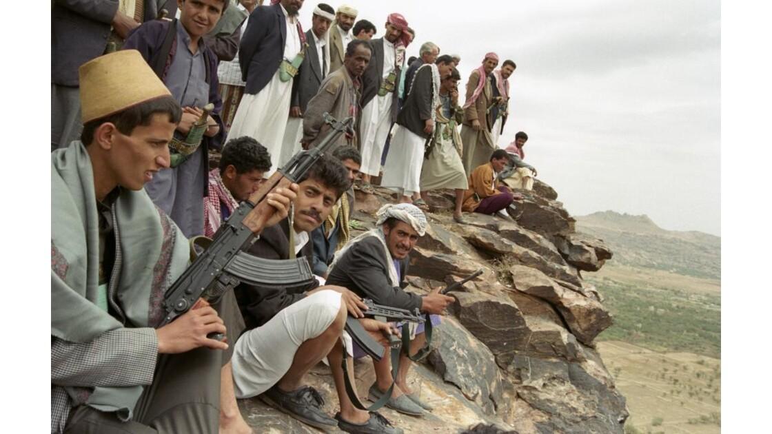 Wadidar Yémen entrainement au tir...