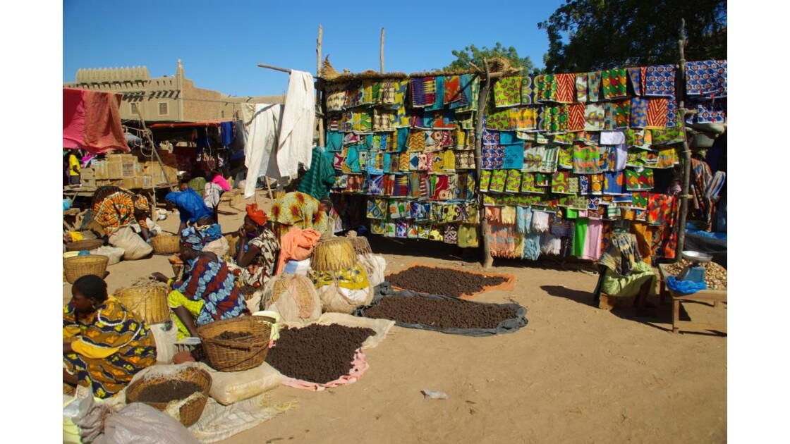 Marché du lundi à Djenné