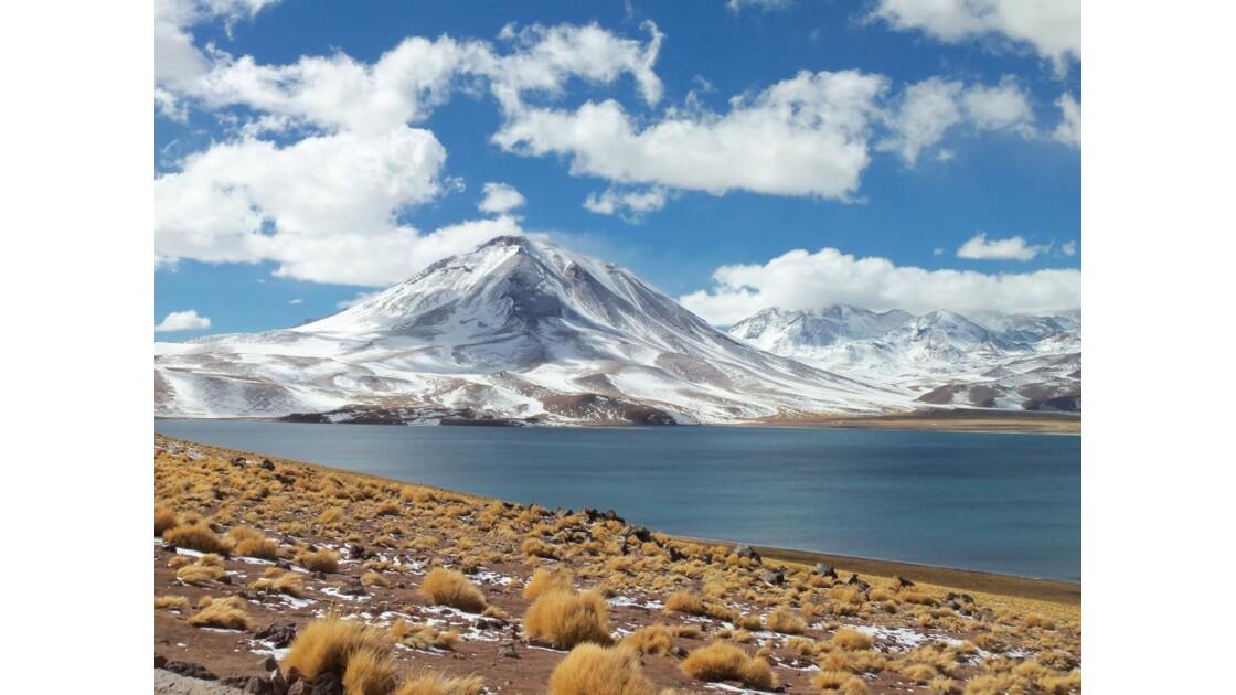 Lagune et Volcan Miscanti