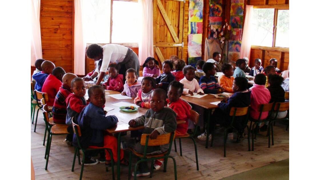 des enfants du Township de Captown
