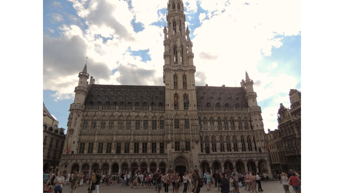 hôtel de ville Bruxelles  place