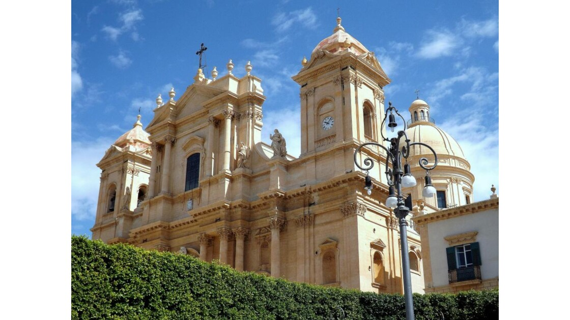 Sicile Noto Eglise