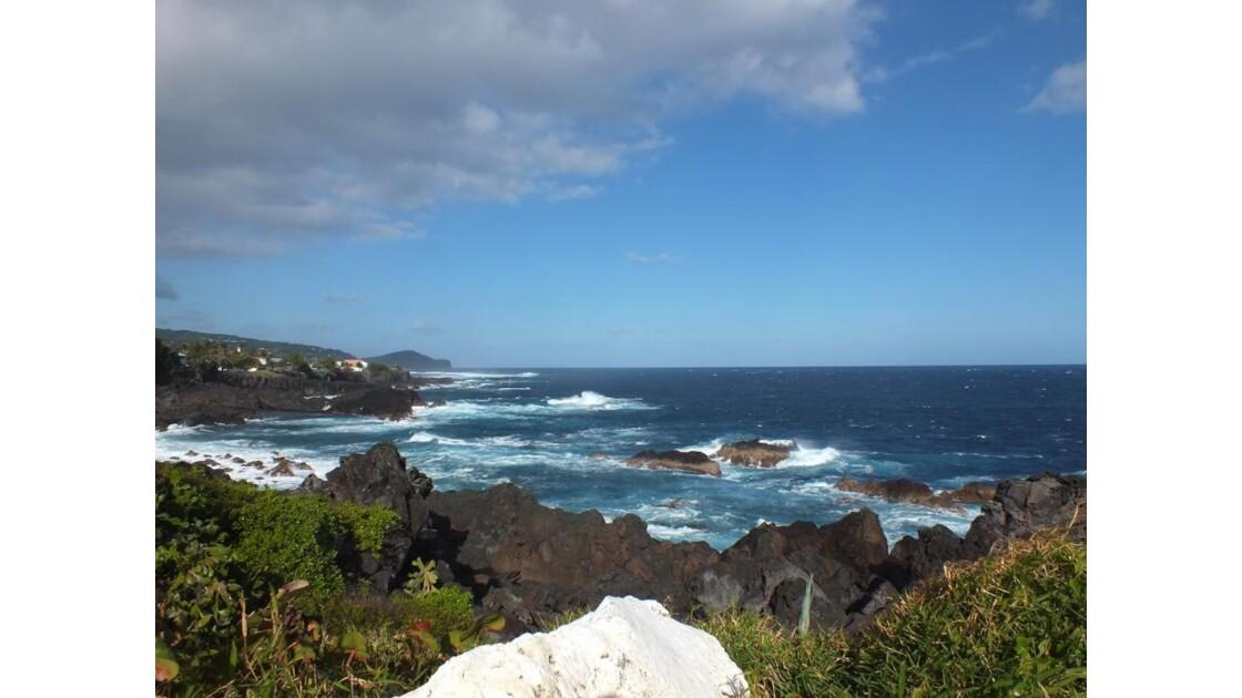 Vue sur l'océan Indien
