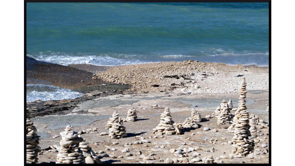 Front de mer sur l'île de Ré