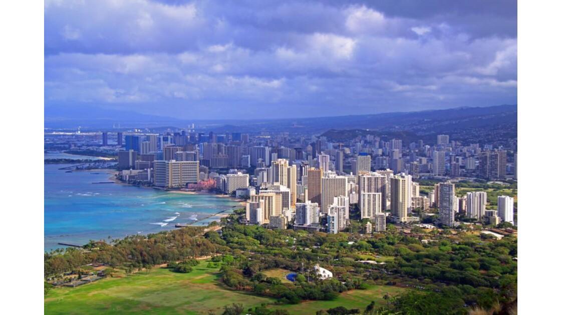 Waikiki et Honolulu