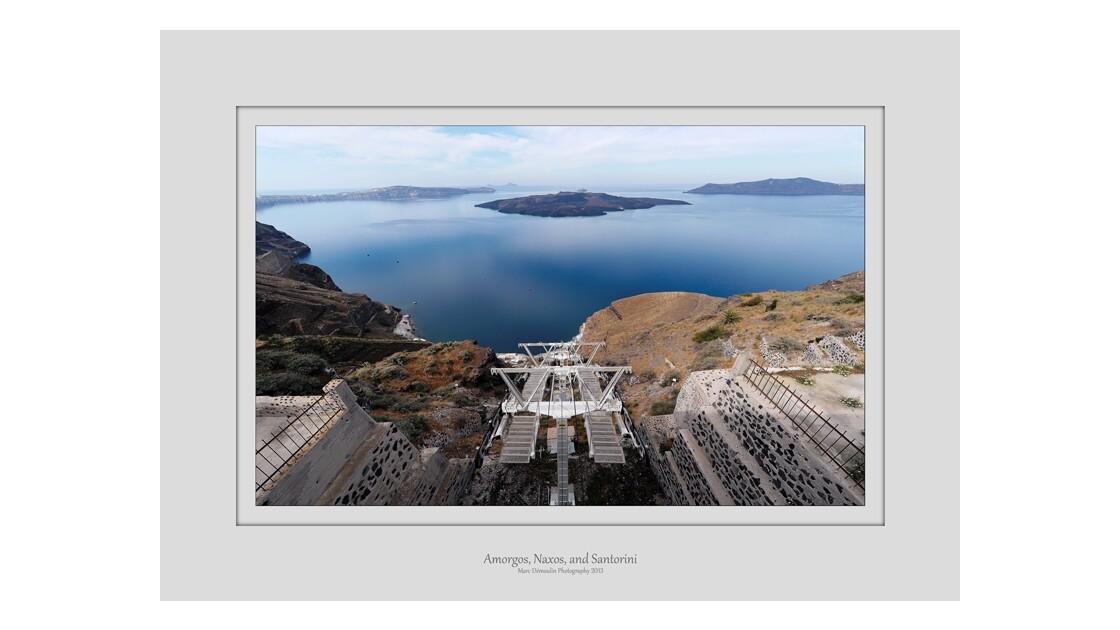 Amorgos, Naxos, et Santorin 85