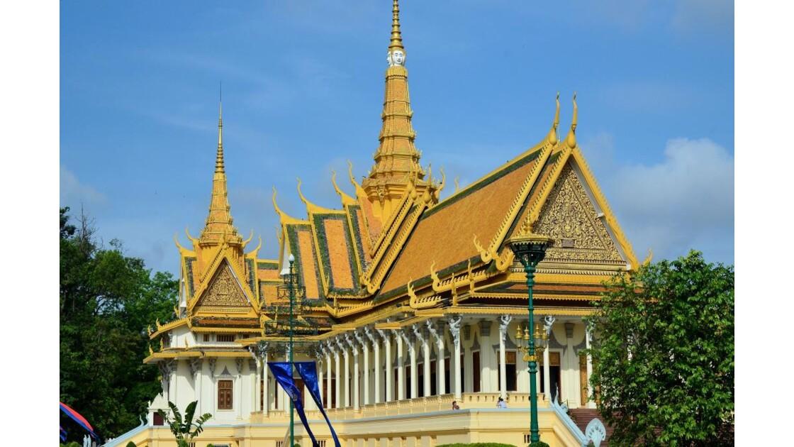 Phnom Penh : le palais royal