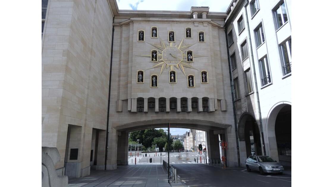 Bruxelles Le carillon du Mont des Arts