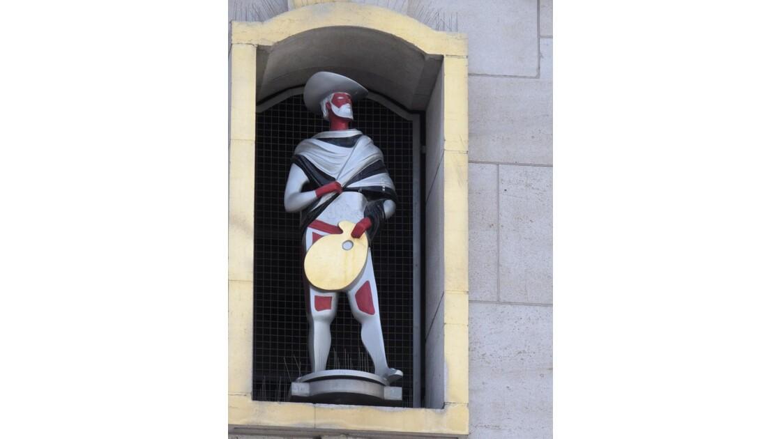 figurine ! Le carillon du Mont des Arts