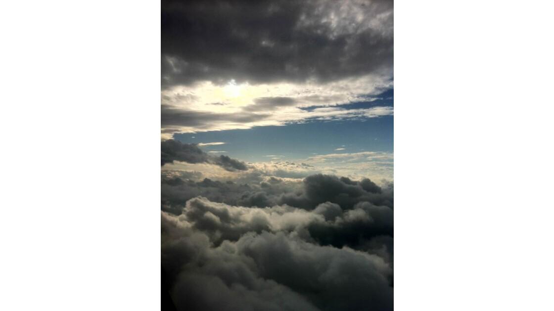 De la haut