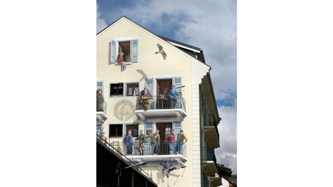 Trompe-l'oeil, Chamonix