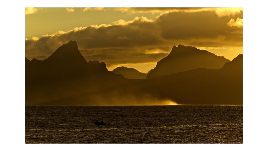 Moorea vue de Tahiti