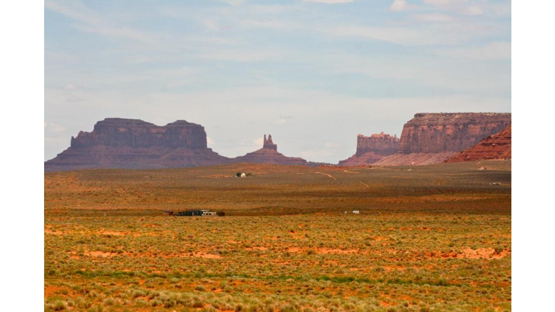 Monument Valley : depuis la Road 136