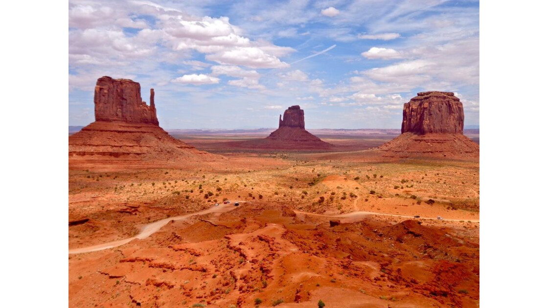 Monument Valley: depuis Visitor Center