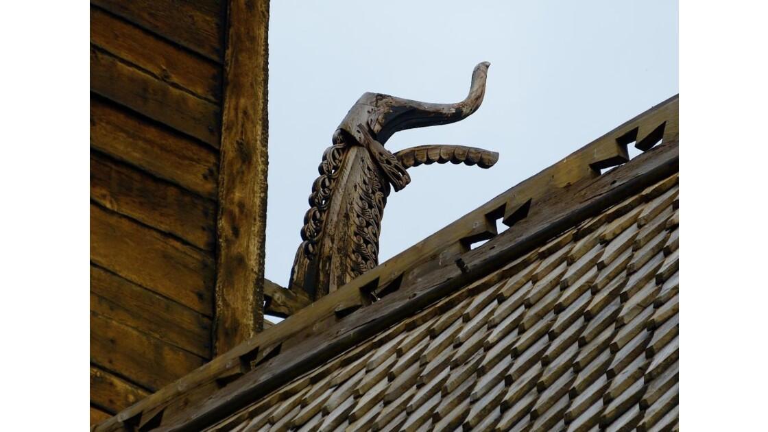 Lom - Eglise à bois debout