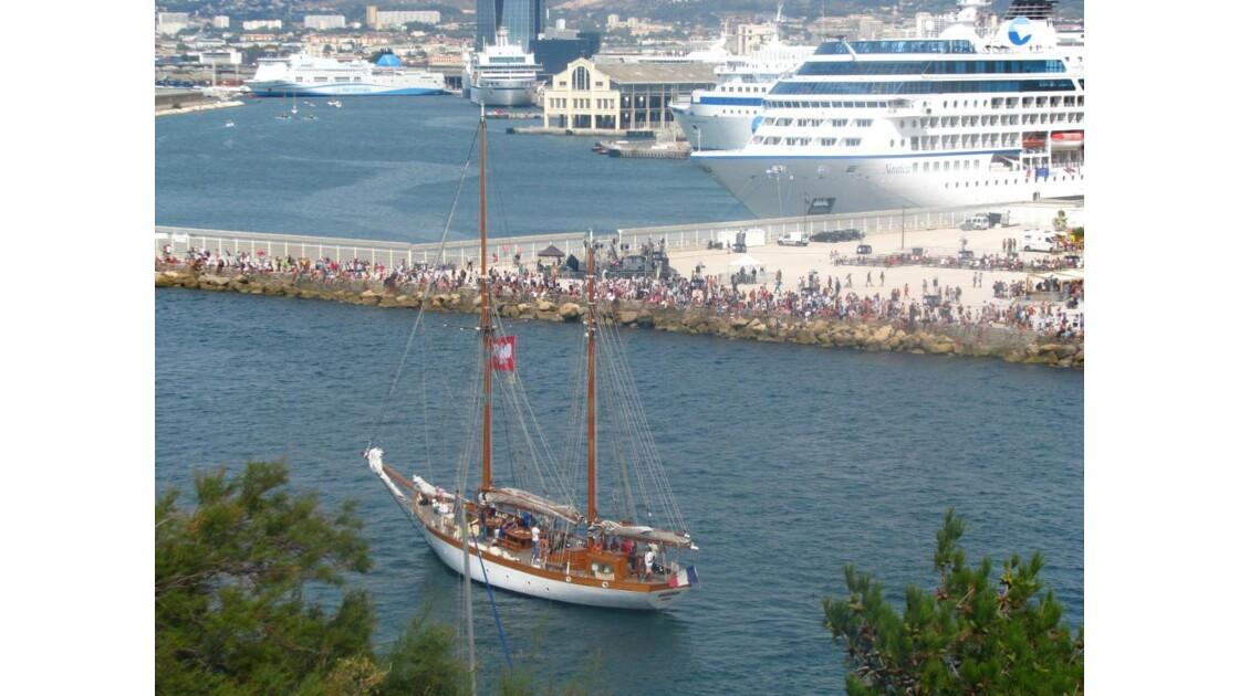 La grande parade maritime