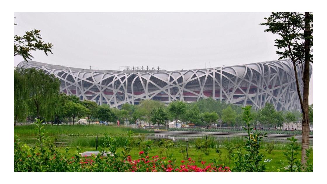 Stade Olympique de Pékin.