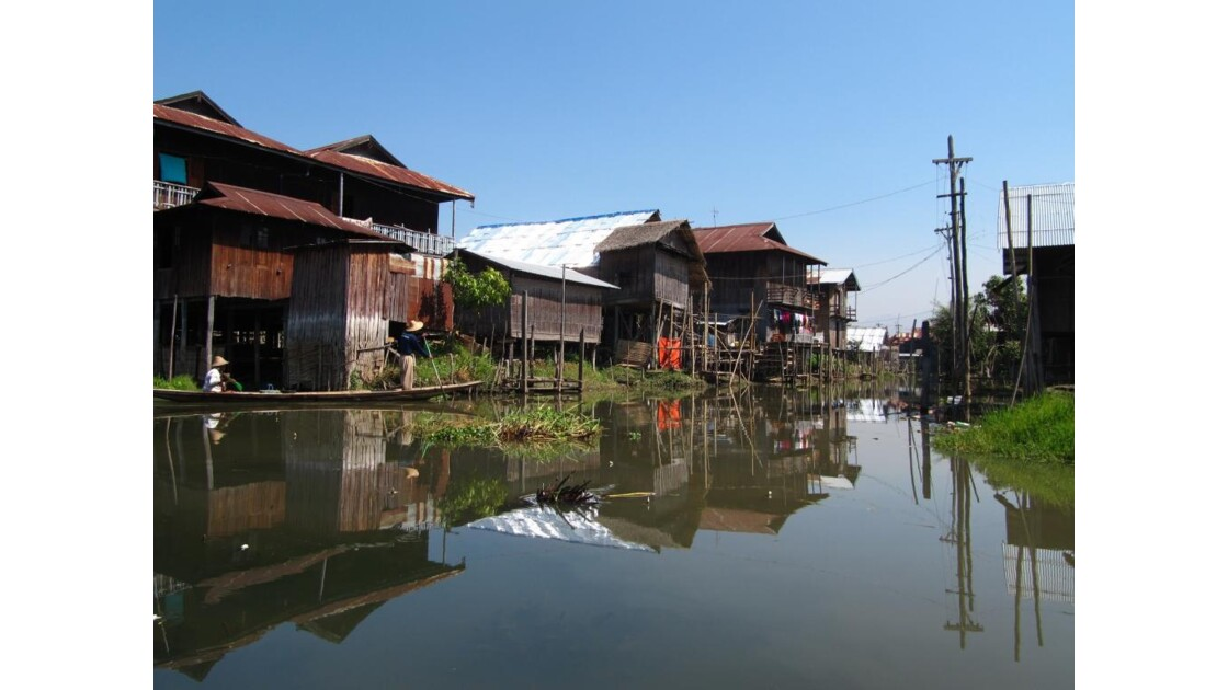 Lac Inle - Reflet