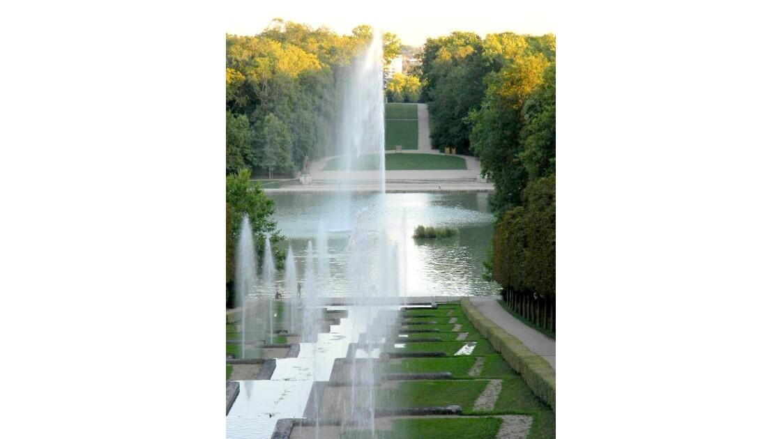Les eaux du parc
