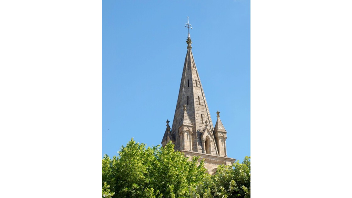Eglise Saint Géronce, clocher_P5087685