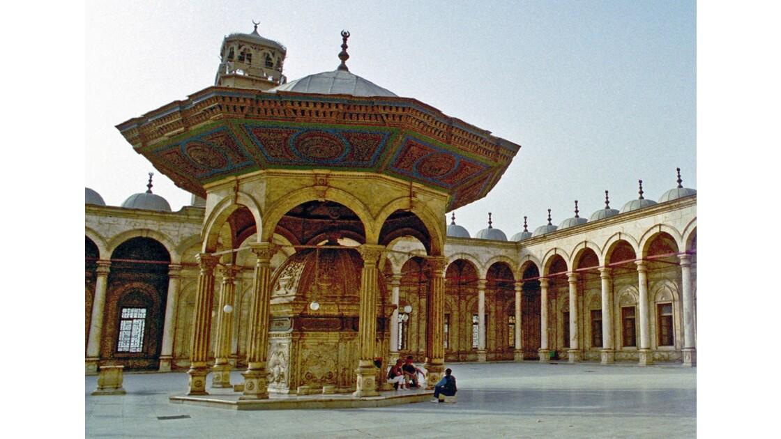 Le Caire Mosquée Mohamed Ali le sahn