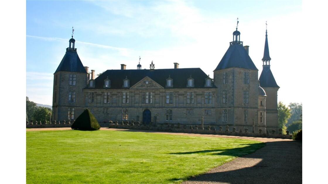 Château de Sully au petit matin