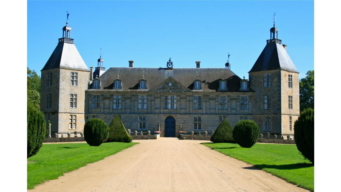 Château de Sully (façade ouest)