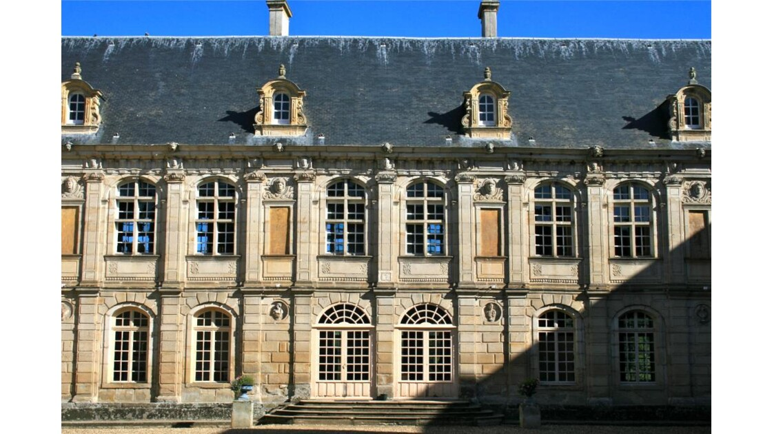 Sully: cour intérieure (façade Nord)
