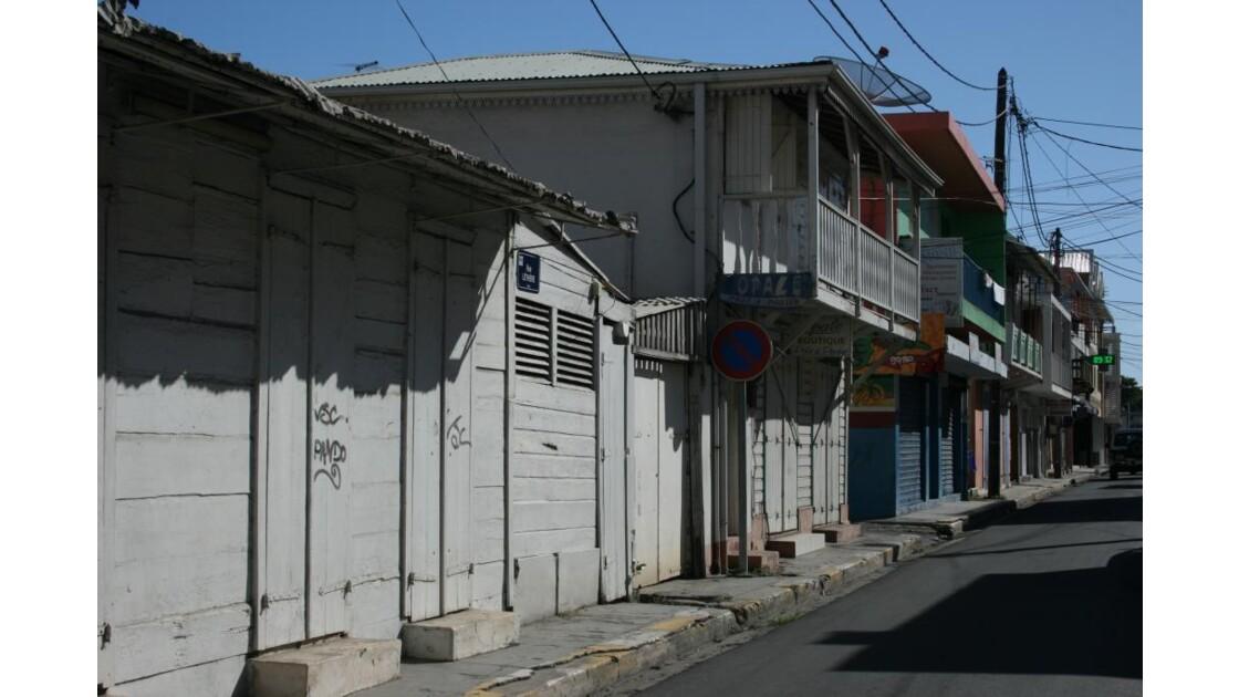 Rue typique de Ste Anne