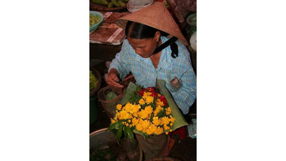 Marchande de fleurs