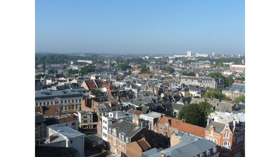 Arras depuis le beffroy