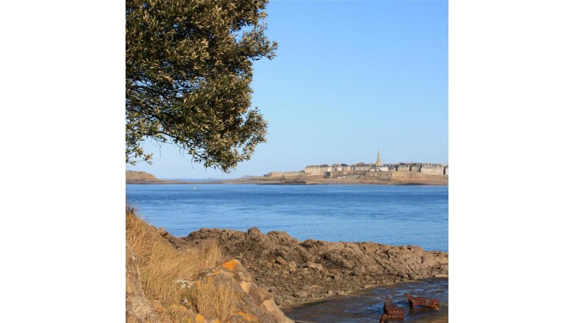 St Malo - Vue depuis Dinard
