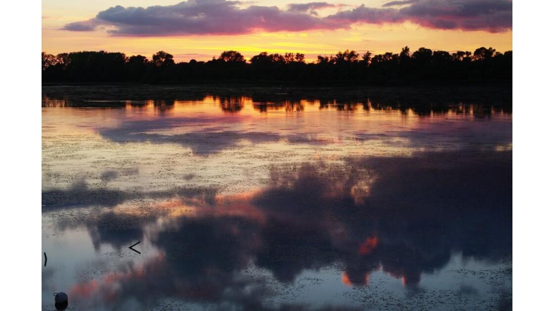 couleurs de l'étang vieux