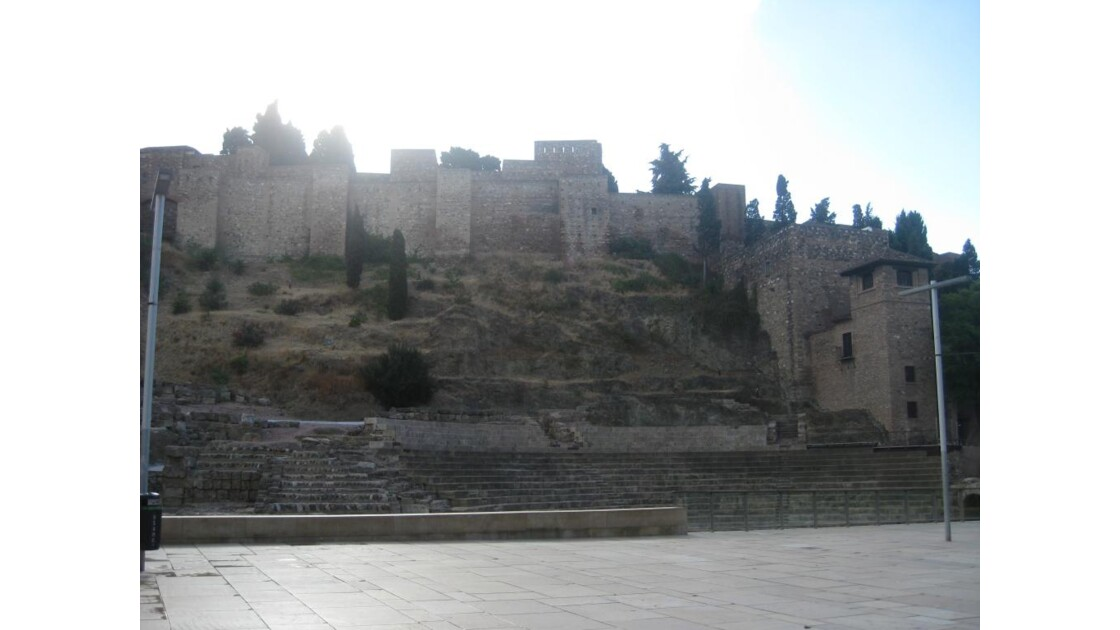 Málaga-Theatre romain