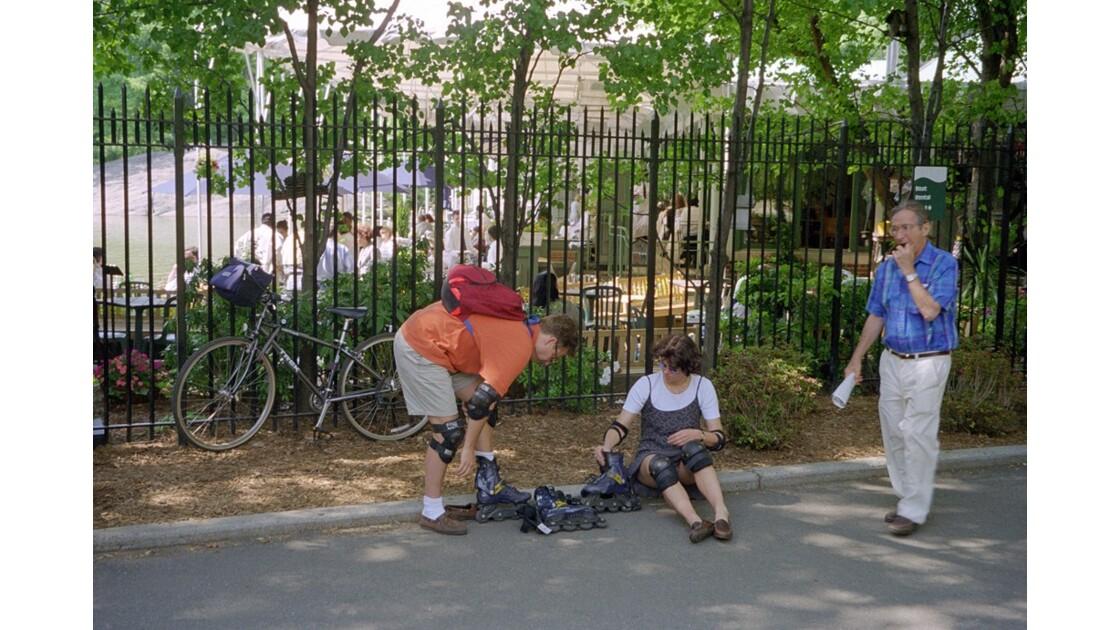 NYC - Central Park Préparatifs
