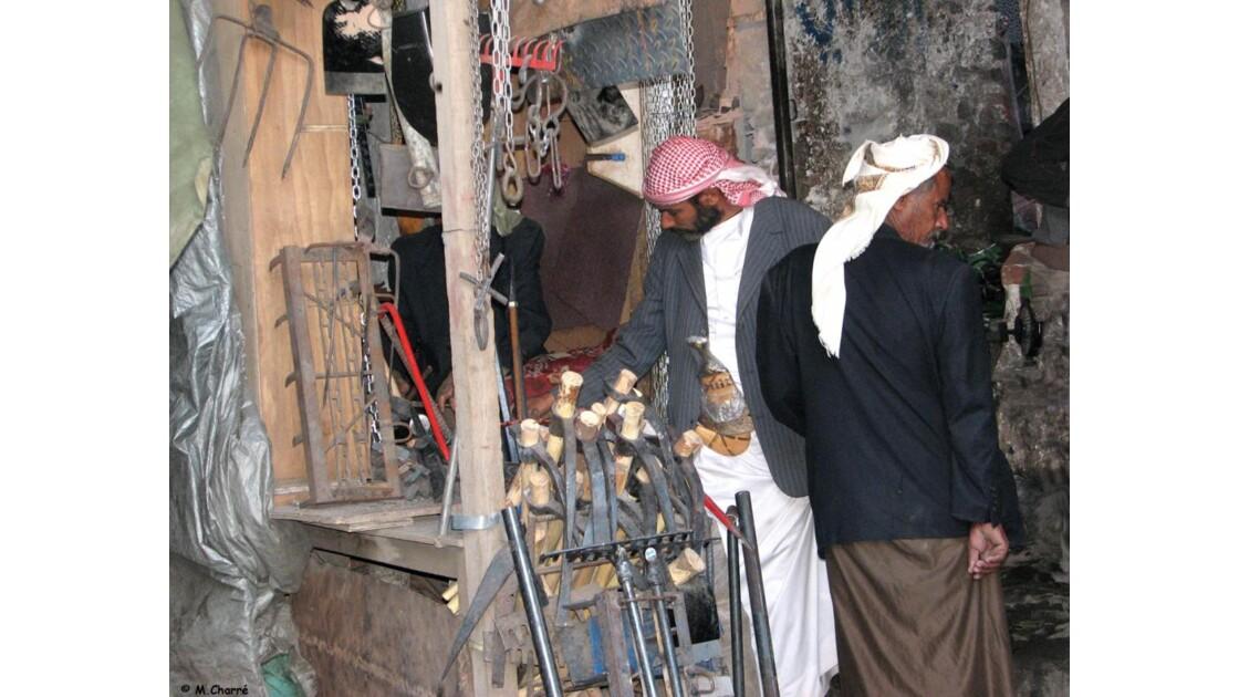 Sanaa - sa médina, son souk