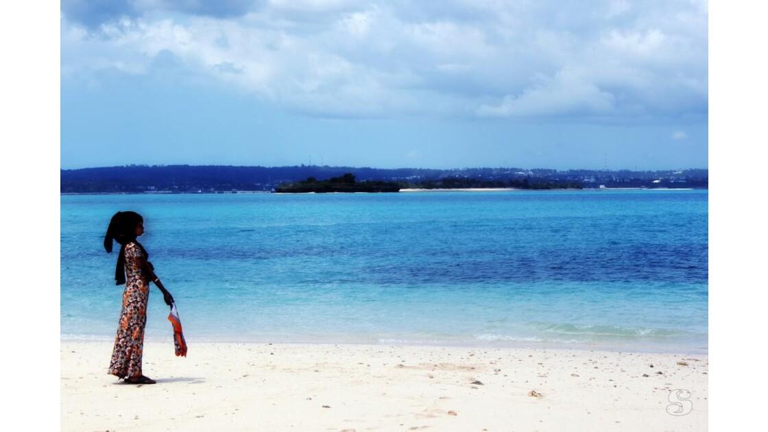 Zanzibar Stone-Town Regard sur l'océan