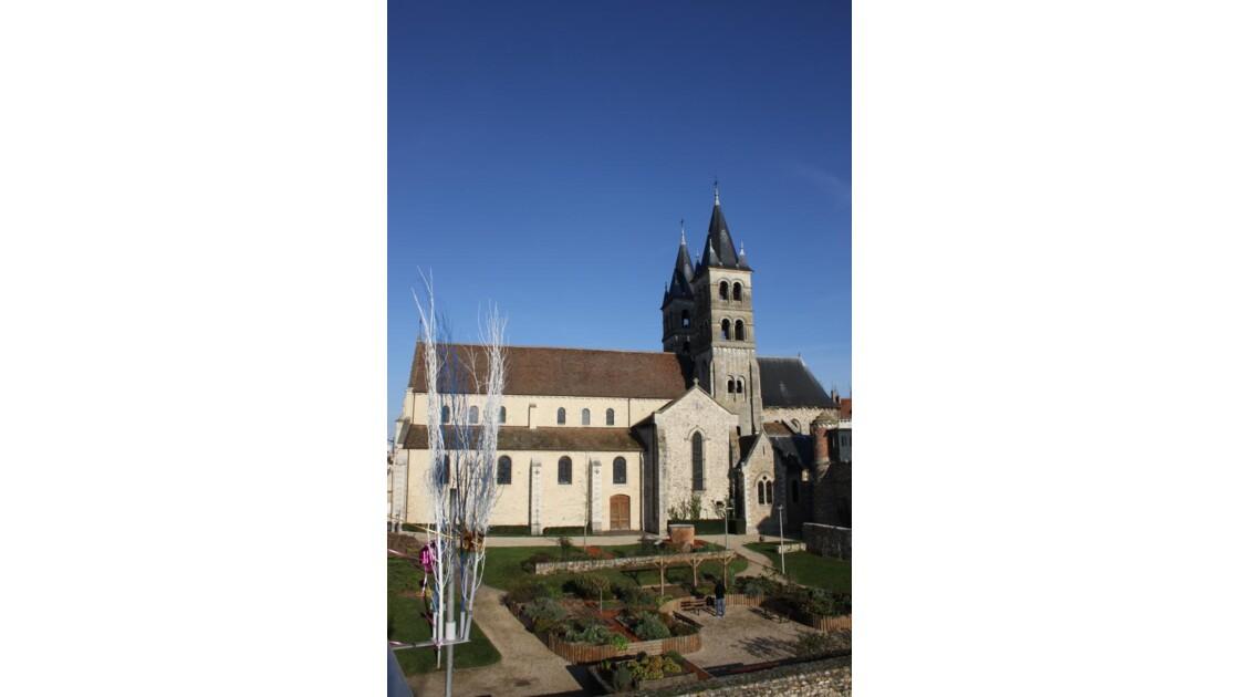 Collégiale Notre-Dame de Melun....